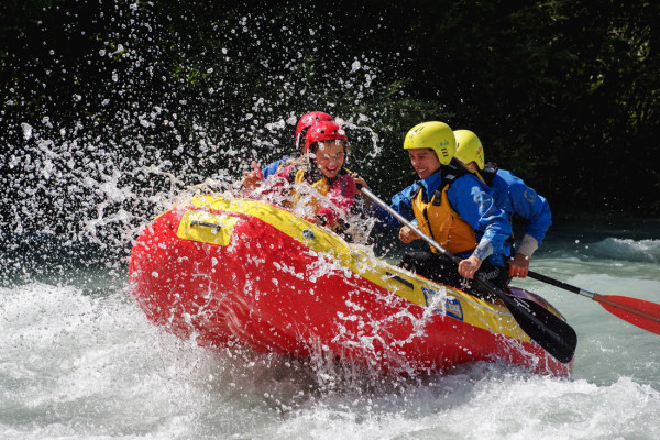 rafting in alto adige